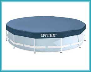 Тенты для круглых бассейнов Intex и Bestway