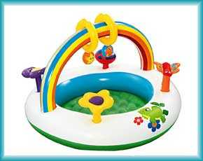 Детские игровые центры Intex и Bestway