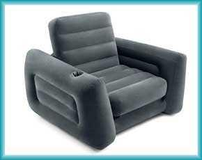 Надувные кресла Intex и Bestway