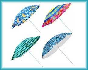 Пляжные зонты Intex и Bestway